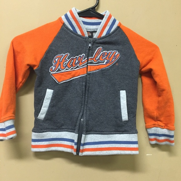 Harley-Davidson Other - Kids Harley Davidson Sweater Jacket  Size 4T